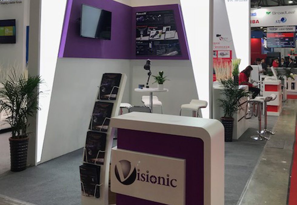 VISIONIC était présent au CCMT de Shanghai