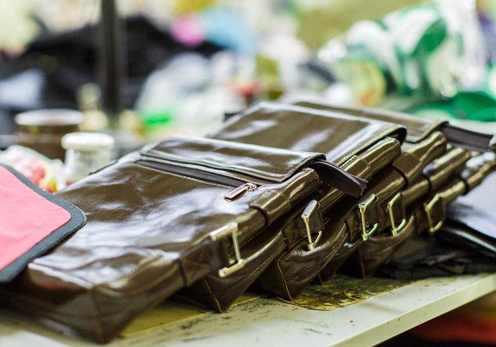 Produits de maroquinerie du secteur du luxe